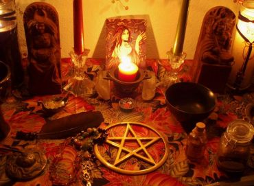 Candle Magic spell work