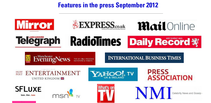 Silent Voices Magazine in the top UK newspapers.