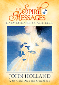 CLICK HERE for the Silent Voices Magazine review of the Spirit Messages Oracle Deck and links to purchase